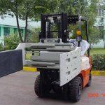 Bride multi d'usage de attaches efficaces hydrauliques de chariot élévateur de la Chine