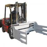 Pince à balle de 2,2 tonnes pour le chariot élévateur de 3 tonnes