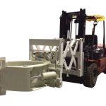 Attachement de manutention de pneu de chariot élévateur