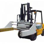 Pinces de blocage pour chariot élévateur ou pinces à briques Pinces de blocage pour chariot élévateur à fourrage non variable 2,5 t