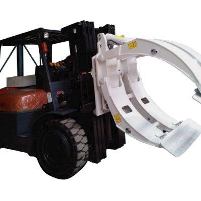 Pince à rouleau de papier rotative pour attaches de chariot élévateur de classe 2