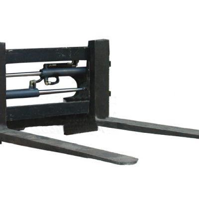Attachement de positionneur de fourche hydraulique