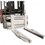 Pince hydraulique de bloc d'attachement de chariot élévateur