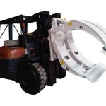 Pince de rouleau de papier pour chariot élévateur
