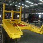 Benne à ordures de chariot élévateur hydraulique