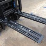 Type WF2A1100 fourches de roue de chariot élévateur à vendre