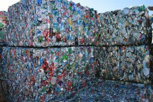 Emballage des déchets